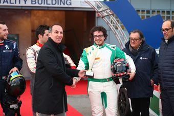 Campione dell'Anno, Seat Leon Cupra ST, Seat Motor Sport Italia, Eugenio Pisani, FORMULA REGIONAL EUROPEAN CHAMPIONSHIP