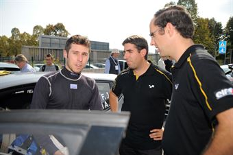 Fabrizio Jr Andolfi, Andrea Casalini (Renault Clio R3T, #23 Renault Sport Technologies);, CAMPIONATO ITALIANO RALLY TERRA