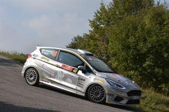 Daniele Campanaro, Irene Porcu (Ford Fiesta R1 #48, Jolly Racing Team), CAMPIONATO ITALIANO RALLY