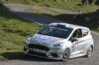 Daniele Campanaro, Irene Porcu (Ford Fiesta R1 #48, Jolly Racing Team), ITALIAN RALLY CHAMPIONSHIP