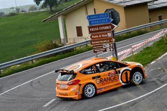 Simone Campedelli, Tania Canton (Ford Fiesta R5 #3), ITALIAN RALLY CHAMPIONSHIP