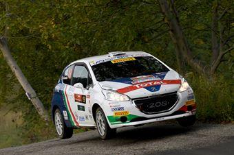 Tommaso Ciuffi, Nicolo Gonella (Peugeot 208 R2 #19), ITALIAN RALLY CHAMPIONSHIP
