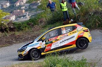 Ivan Ferrarotti, Manuel Fenoli (Renault Clio R3 #14, Best Racing Team), CAMPIONATO ITALIANO RALLY