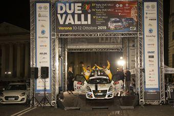 Andrea Scalzotto, Daniele Cazzador (Suzuki Swift R1 #50, Funny Team), ITALIAN RALLY CHAMPIONSHIP