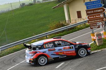 Giacomo Scattolon, Matteo Nobili (Hyundai i20 R5 #6), CAMPIONATO ITALIANO RALLY