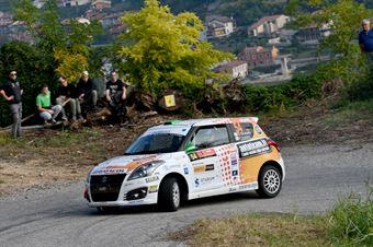 Stefano Strabello, Paolo Scardoni (Suzuki Swift R1 #54, Destra4), ITALIAN RALLY CHAMPIONSHIP