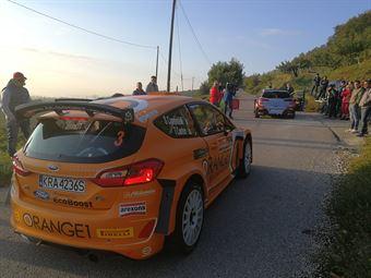 Simone Campedelli, Tania Canton (Ford Fiesta R5 #3, Project Team), ITALIAN RALLY CHAMPIONSHIP