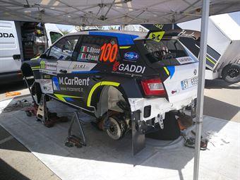 Giandomenico Basso, Lorenzo Granai (Skoda Fabia R5 #100, Sport e Comunicazione), CAMPIONATO ITALIANO RALLY