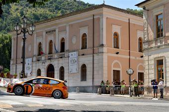 Simone Campedelli, Tania Canton (Ford Fiesta R5 #15, Project Team), CAMPIONATO ITALIANO RALLY