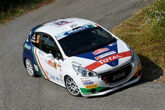 Tommaso Ciuffi, Nicolo Gonella (Peugeot 208 R2 #53, FPF Sport), CAMPIONATO ITALIANO RALLY