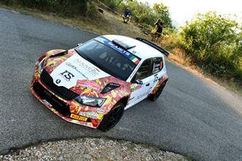 Andrea Crugnola, Pietro Ometto (Skoda Fabia R5 #16, Gass Racing), CAMPIONATO ITALIANO RALLY