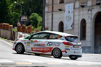 Andrea Mazzocchi, Silvia Gallotti (Ford Fiesta R2 #57, Leonessa Corse), CAMPIONATO ITALIANO RALLY