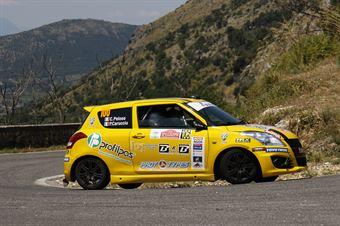 Corrado Peloso, Paolo Carrucciu (Suzuki Swift R1 #106, La Superba) , CAMPIONATO ITALIANO RALLY