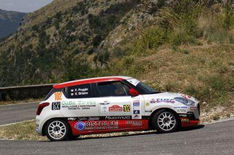 Fabio Poggio, Valentina Briano (Suzuki Swift R1 #102, Alma Racing), CAMPIONATO ITALIANO RALLY