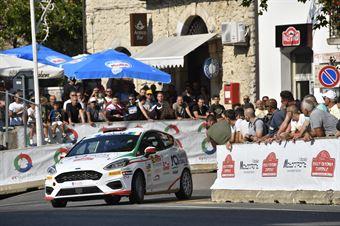 Marco Pollara, David Castiglioni (Ford Fiesta R2 #54, CST Sport), CAMPIONATO ITALIANO RALLY