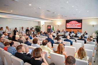 Conferenza Stampa Rally 7°Roma Capitale (Leonardo D'Angelo), CAMPIONATO ITALIANO RALLY