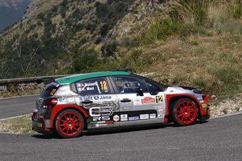 Luca Rossetti, Eleonora Mori (Citroen C3 R5 #12, FPF Sport), CAMPIONATO ITALIANO RALLY