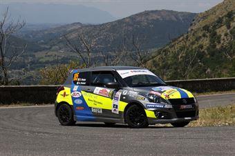 Emanuele Rosso, Andrea Ferrari (Suzuki Swift R1 #105, Meteco Corse), CAMPIONATO ITALIANO RALLY
