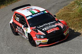 Antonio Rusce, Marco Vozzo (Skoda Fabia R5 #45, XRaceSport), CAMPIONATO ITALIANO RALLY