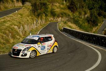 Andrea Scalzotto, Daniele Cazzador (Suzuki Swft R1 #104, Funny Team), CAMPIONATO ITALIANO RALLY