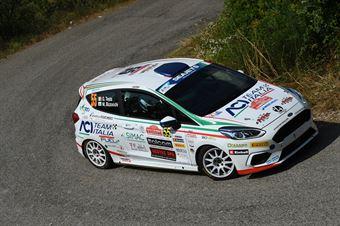 Giuseppe Testa, Massimo Bizzocchi (Ford Fiesta R2 #55, Hawk Racing Club), CAMPIONATO ITALIANO RALLY
