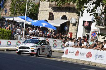 Giuseppe Testa; Massimo Bizzocchi (Ford Fiesta R2 #55; Hawk Racing Club), CAMPIONATO ITALIANO RALLY