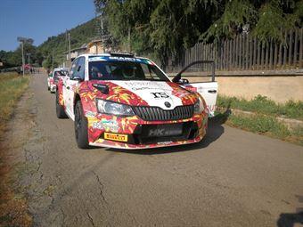 Andrea Crugnola; Pietro Elia Ometto (Skoda Fabia R5 #16), CAMPIONATO ITALIANO RALLY