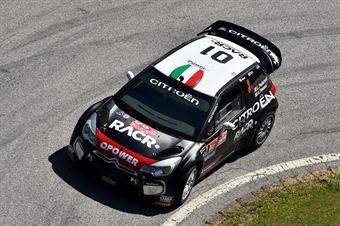 Luca Pedersoli, Anna Tomasi (Citroen DS3 WRC #3), CAMPIONATO ITALIANO RALLY TERRA