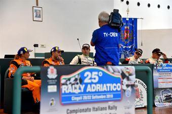 Conferenza stampa finale, CAMPIONATO ITALIANO RALLY TERRA