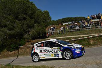 Andrea Dalmazzini, Giacomo Ciucci (Ford Fiesta R5 #14, X Race Sport), CAMPIONATO ITALIANO RALLY TERRA
