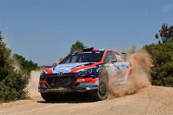 Umberto Scandola, Guido DAmore (Hyundai i20 R5 #103, SA Motorsport Italia), CAMPIONATO ITALIANO RALLY TERRA