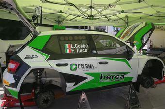 Invia Luciano Cobbe, Fabio Turco (Skoda Fabia R5 #108, Meteco Corse), CAMPIONATO ITALIANO RALLY TERRA