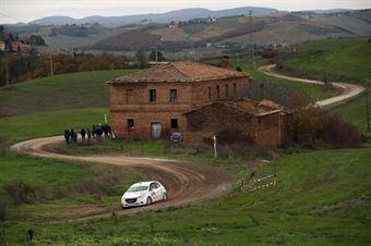 Andrea Gallu, Fabio Salis (Peugeot 208 R2 #47, Team Autoservice Sport), CAMPIONATO ITALIANO RALLY TERRA