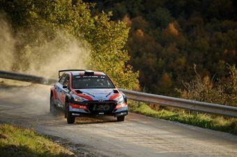 Umberto Scandola, Guido Damore (Hyundai i20 R5 #5, Movisport), CAMPIONATO ITALIANO RALLY TERRA