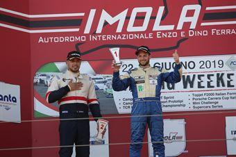 Giacomo Pollini (ASD Giacomo Race,Wolf GB08 Thunder #6)Claudio Giudice (Scuderia Giudici,Wolf GB08 Thunder #2), CAMPIONATO ITALIANO SPORT PROTOTIPI