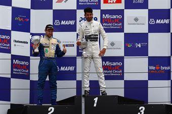 Riccardo Ponzio (SG Motors,Wolf GB08 Thunder #71) Giacomo Pollini (ASD Giacomo Race,Wolf GB08 Thunder #6), CAMPIONATO ITALIANO SPORT PROTOTIPI