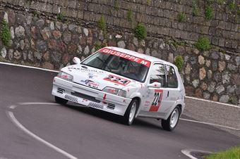 Giuseppe Maringolo (Peugeot 106 #224), CAMPIONATO ITALIANO VELOCITÀ MONTAGNA