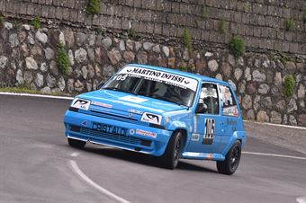 Martino Biase (Cosenza Corse, Renault 5 GT #105), CAMPIONATO ITALIANO VELOCITÀ MONTAGNA