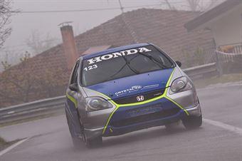 Lisi Giovanni (Honda Civic Type R #123), CAMPIONATO ITALIANO VELOCITÀ MONTAGNA