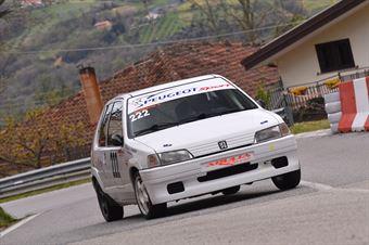 Scarpetta Antonio (Apulia Corse Asd, Peugeot 106 R #222), CAMPIONATO ITALIANO VELOCITÀ MONTAGNA