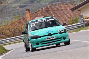 Guido Giuseppe(Cosenza Corse, Peugeot 106 R #203), CAMPIONATO ITALIANO VELOCITÀ MONTAGNA