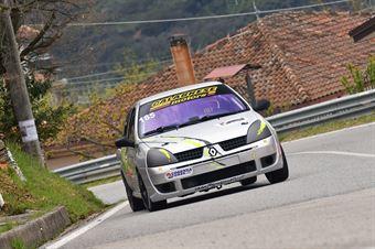 Eusebio Arduino(Cosenza Corse, Renault Clio #186), CAMPIONATO ITALIANO VELOCITÀ MONTAGNA