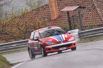 Garritano Umberto (Cosenza Corse, Peugeot 206 Rc #102), CAMPIONATO ITALIANO VELOCITÀ MONTAGNA