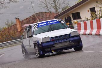 Giuseppe Maugeri (Giarre Corse, Renault 5 GTT #76), CAMPIONATO ITALIANO VELOCITÀ MONTAGNA