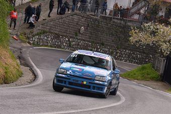 Aurello Rosario (Cosenza Corse, Renault Clio W #101), CAMPIONATO ITALIANO VELOCITÀ MONTAGNA
