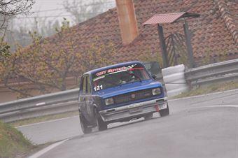 Francesco Crocco ( Kronoracing, Fiat 127 #121), CAMPIONATO ITALIANO VELOCITÀ MONTAGNA