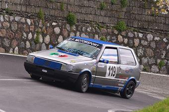 Alessio Longobucco (Cosenza Corse, Fiat uno 55 #119), CAMPIONATO ITALIANO VELOCITÀ MONTAGNA