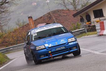 Gardi Gerardo (Cosenza Corse, Renault Clio W #99), CAMPIONATO ITALIANO VELOCITÀ MONTAGNA