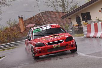 Gabry Driver (Kronoracing, Honda Civic #72), CAMPIONATO ITALIANO VELOCITÀ MONTAGNA