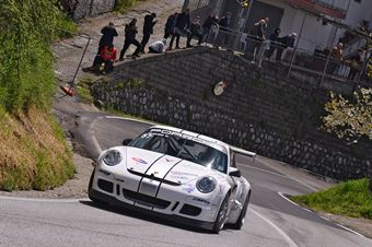 Mauro Gabriele (Porsche 997 Gt3 Cup, Scuderia Vesuvio #57), CAMPIONATO ITALIANO VELOCITÀ MONTAGNA